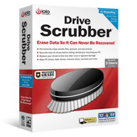 screenshot of Drive Scrubber
